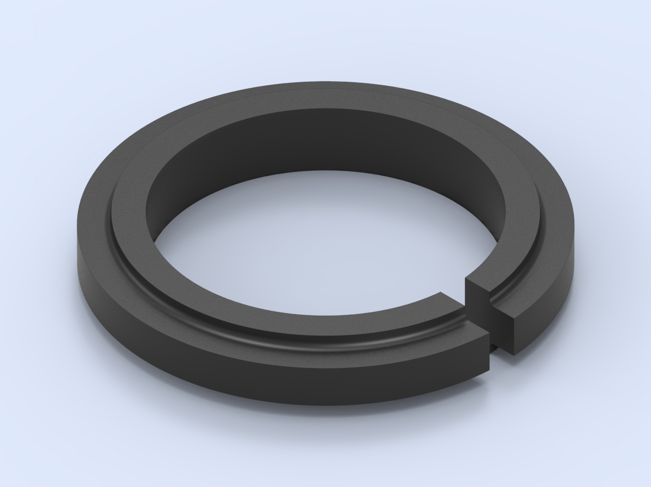 Guide Ring Version Shouldered with Straight Joint